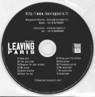 LEAVING PARIS - New Days - CD - METAL - PROMO - Hard Rock & Metal