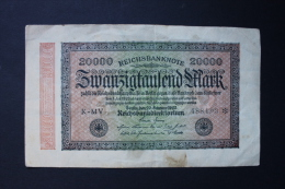 RFRA152 REICHSBANKNOTE 20 000 MARK - [ 3] 1918-1933 : República De Weimar