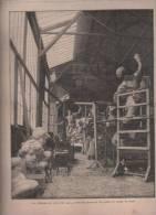 L´EXPOSITION DE PARIS 1889 N°8 - FONTAINE - TOUR EIFFEL - PALAIS BEAUX ARTS - CRUE DE LA SEINE - TRAVAUX PAVILLONS - Periódicos