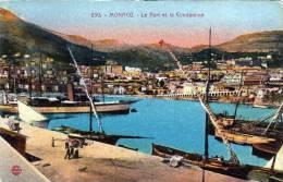 MONACO, Le Port Et La Condamine, Nicht Gelaufen Um 1910, Gute Erhaltung - Monaco