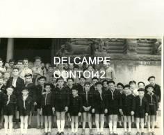 13 ARLES PHOTOGRAPHIE DE PRESSE SCOUTISME SCOUT EGLISE ST TROPHIME BOUCHES DU RHONE - Scoutisme