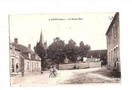 CUFFY. - La Grande Rue. - Autres Communes