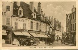 N°25710 -cpa Beaune -petite Place Carnot- - Beaune