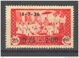MA161-289224TFSC.Maroc  .Marocco.MARRUECOS  ESPAÑOL.El Califa. 1936 (Ed 161*) Con Charnela.EXCELENTE - Sin Clasificación
