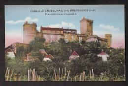 Château De Castelnau Près De Bretenoux - Vue D´ensemble - Dos Vierge -  En Excellent état - Bretenoux