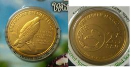 MALAYSIA 2005 2004 25 Cent Coin Nordic Gold BU 25 Sen White Bellied Sea Eagle - Malaysia