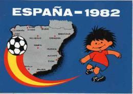 Autocollant Sport Football - España - 1982 - Stickers