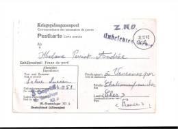CPA - Correspondance Des Prisonniers De Guerre  -  L. LEDUC  N° 24.051 -  ALLEMAGNE Vers  VENESMES ( Cher) - Allemagne