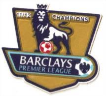Barclays Premier League BPL Gold FA 2011/2012 11/12 City  FOOTBALL UK GB - Patches