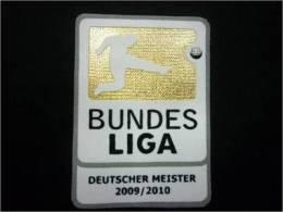 BUNDES LIGA BAYERN MUNICH PATCH GERMANY FOOTBALL 2009 2010 GOLD - Patches