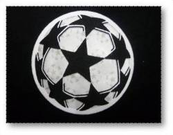 UEFA CHAMPION LEAGUE EMBROIDERED PATCH FOOTBALL - Patches