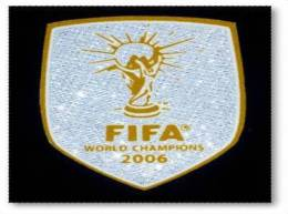 FIFA WORLD CHAMPION 2006 PATCH ITALY FOOTBALL - Patches