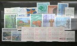 2291 Aland Postfrisch Aus 1984-1986 KW 33,00 € - Aland