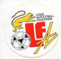 Autocollant Sport Football - Ligue De Football D'Aquitaine - Stickers