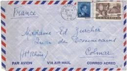 L-CAN8 - Belle Lettre Par Avion De 1951 - 1952-.... Reign Of Elizabeth II
