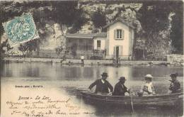 CPA 1900 : BESSE LE LAC ANMEE BARQUE 83 VAR - Besse-sur-Issole