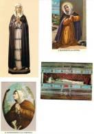 S. MARGHERITA DA CORTONA - LOTTO 4 SANTINI - M - Religione & Esoterismo