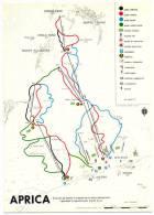 Anni '60 (?), Aprica (Sondrio), Impianti E Piste / Italy, Lombardia, Aprica, Winter Sports - Ski Tracks - Italie