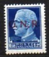 1944 Repubblica Sociale GNR N. 480 Nuovo MLH* - 1944-45 République Sociale