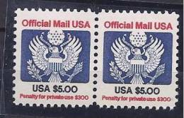 UnitedStates1983: Michel Dienst.105A Mnh** Pair - Officials