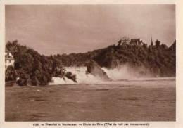 Rheinfall Bei Neuhausen, Gegen Das Licht Halten, Effet De Lumière (626) - Contre La Lumière