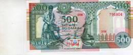 SOMALIA AFRICA 500 SH.P36 1990 BOAT HORSE FISH UNC NOTE - Somalia