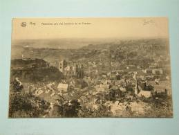 Panorama Pris Des Hauteurs De La CHERAVE - Anno 1922 ( Zie Foto´s Voor Details ) !! - Hoei