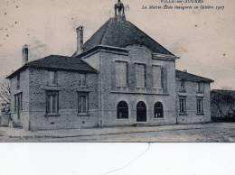 51 - Ville Sur Tourbe ( Mairie - école ) 1938 - Ville-sur-Tourbe