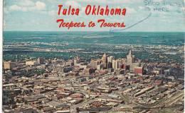 BR30848 Tulsa Oil Capital Of The World     2 Scans - Tulsa