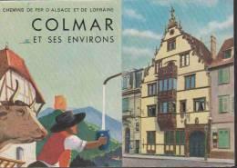 Feuillet Publicitaire:  COLMAR Et Ses Environs.    1939. - Publicités