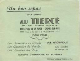 Au TIERCE (Bar Hôtel Restaurant Salon De Thé) - CAGNES-SUR-MER - France