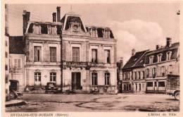Cpa ENTRAINS SUR- NOHAIN , L´hôtel De Ville (14.19) - France