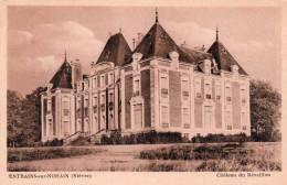 Cpa ENTRAINS SUR- NOHAIN , Château Du Réveillon (14.19) - France