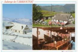 Cpm Auberge De L´arrioutou à BEAUCENS  (14.22) - Hotels & Gaststätten