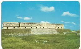 Mexico, The Governor's Palace, Uxmal, Yucatan, Unused Postcard [12154] - Mexiko