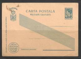 Unused Military Postal Card - Interi Postali