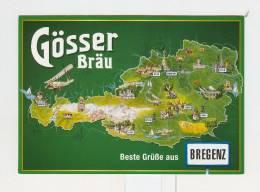 Gosser BRAU-Bregenz-Austria-NV - Publicité