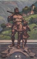 Schweiz Altdorf Telldenkmal
