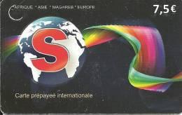 Global S, Afrique-Asie-Mahgreb-Europe - Frankreich