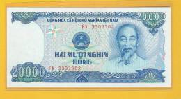 Vietnam Banknote: 20.000 Dong - 1991 Series - End Used At The End Of This Year 2012 - Vietnam
