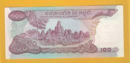 Cambodia Banknote: 100 Face Value - Fine - Cambodia