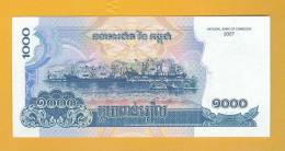 Cambodia Banknote: 1.000 Reils -  UNC - Cambodia