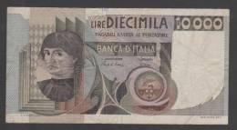 ITALY, ,10.000 Lire ,1976-84, Man At Left ,No´106, F. - 10000 Lire