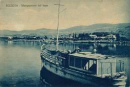 BOLSENA NAVIGAZIONE SUL LAGO 1952 - Viterbo