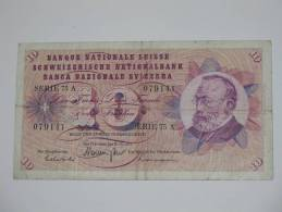 10 Francs SUISSE 1971 - Banque Nationale Suisse - Schweizerische Nationalbank - Suisse
