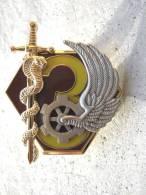 INSIGNE SERVICE DE SANTEE DES ARMEES 1� RM LA 3� COMPAGNIE DU 1� REGIMENT MEDICAL
