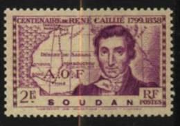 Soudan  N° 101    Neuf **  Luxe   Cote Y&T  1,60  €uro  Au Quart De Cote