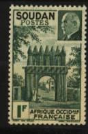 Soudan  N° 129     Neuf **  Luxe   Cote Y&T  1,20  €uro  Au Quart De Cote