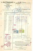 """Marcinelle - 1946 - """"Autragaz"""" - Électricité & Gaz"""