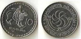 Georgia  10 Thetri  1993 - Géorgie